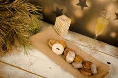Spanish Christmas marzipan Royalty Free Stock Image