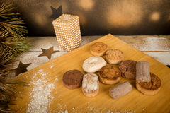 Spanish Christmas pastry Royalty Free Stock Images