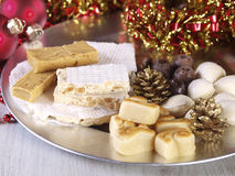 Spanish Christmas sweets. Royalty Free Stock Photography