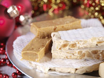 Spanish Christmas sweets. Stock Images