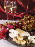 Spanish Christmas sweets. Royalty Free Stock Images