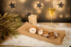 Spanish Christmas sweets Royalty Free Stock Photos