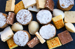 Spanish Christmas sweets Royalty Free Stock Photography