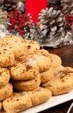 Spanish Christmas treat Stock Image