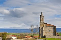 Spanish Church Royalty Free Stock Photography