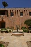 Spanish Church Courtyard Stock Image