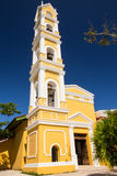 Spanish church, Mexico Royalty Free Stock Photos