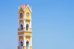 Spanish church, Mexico Stock Photo