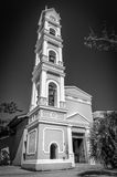 Spanish church, Mexico Royalty Free Stock Images