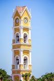 Spanish church, Mexico Royalty Free Stock Image
