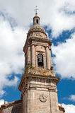 Spanish church tower Royalty Free Stock Photos