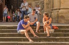 Spanish city of San Sebastian Royalty Free Stock Images