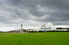 Spanish City at Whitley Bay. View of the Spanish City and war memorial at Whitley Bay Stock Image