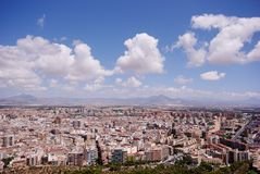Spanish Cityscape. Alicante Royalty Free Stock Images