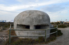 Spanish Civil War Bunker Fortress Royalty Free Stock Image