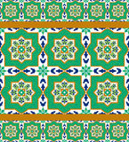 Spanish classic ceramic tiles Stock Photo