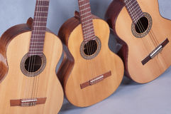 Spanish classical guitar Royalty Free Stock Photography