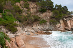 Spanish coast Royalty Free Stock Photography