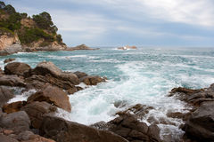 Spanish coast Stock Photography