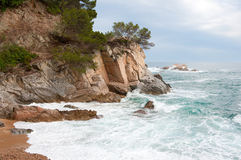 Spanish coast Stock Photo