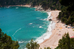 Spanish coast Royalty Free Stock Photo