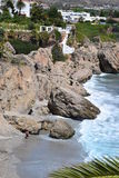 Spanish coast Royalty Free Stock Images