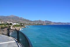Spanish coast Stock Images