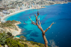 Spanish coast - Calpe Royalty Free Stock Image