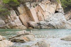 Spanish coast Royalty Free Stock Image
