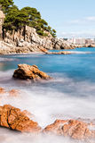 Spanish coast (Costa Brava) Royalty Free Stock Photography