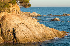 Spanish coast (Costa Brava) Stock Images
