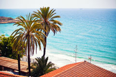 Spanish coast Stock Image