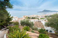 Spanish coastal resort Royalty Free Stock Photography
