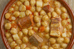 Spanish Cocido Royalty Free Stock Photography