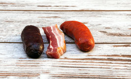 Spanish cold cuts Stock Photography