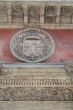 Spanish College in Bologna. Italy. Architectural detail. Spanish College in Bologna. Italy Stock Image