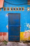 Spanish Colonial Architecture, Door, Guatemala Royalty Free Stock Image