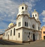 Spanish Colonial Catholic Christian Church in Stock Photo