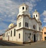 Spanish Colonial Catholic Christian Church in Stock Photo