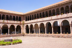 Spanish Colonial cloister courtyard, Stock Photos