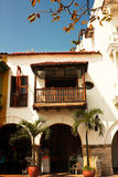 Spanish colonial house. Royalty Free Stock Image