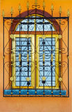 Spanish colonial inspired window Royalty Free Stock Photography