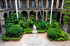Spanish colonial palace in Havana Stock Photos