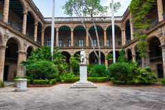 Spanish colonial palace in Havana Royalty Free Stock Photo
