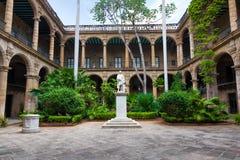 Spanish colonial palace in Havana Royalty Free Stock Photo