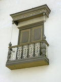 Spanish Colonial Style Balcony Stock Images