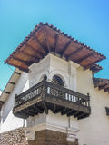 Spanish Colonial Style Balcony Stock Image