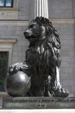 Spanish Congress. Lion of Spanish Congress as a guardian of the law, Madrid Stock Photography