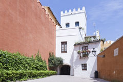 Spanish Cortijo Stock Photography