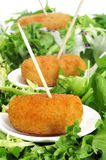 Spanish croquettes Royalty Free Stock Image